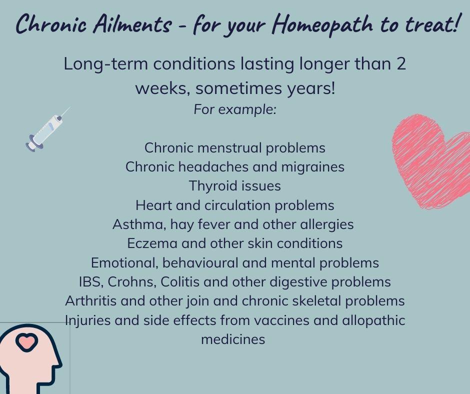 chronic ailments